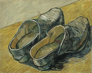A-Pair-of-Leather-Clogs-St.-Remy-Autumn-1889