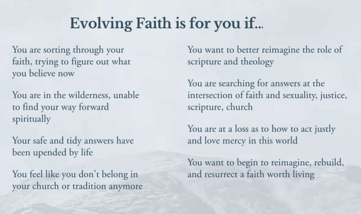 evolvingFaith
